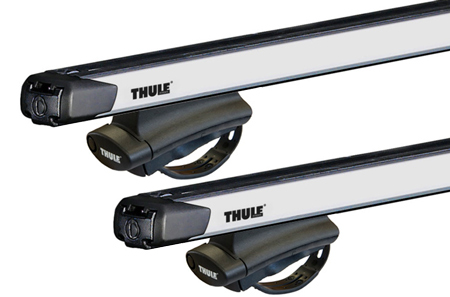 Dachträger Thule mit SlideBar FORD Ecosport 5-T SUV Dachreling 10-11