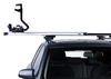 Dachträger Thule mit SlideBar MITSUBISHI Triton (KB4T) 4-T Double-cab Normales Dach 05-15