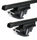 Dachträger Thule mit SquareBar SKODA Fabia Scout 5-T Hatchback Dachreling 09-14