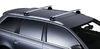 Dachträger Thule mit WingBar MERCEDES BENZ E-Klasse (C207) with glass roof 2-T Coup* Befestigungspunkte 09+