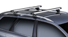 Dachträger Thule Mitsubishi Space Star 5-T MPV Normales Dach 1998-2001, 2002-2005 mit SlideBar