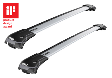 Dachträger Thule WingBar Edge SKODA Roomster 5-T MPV Dachreling 06-15