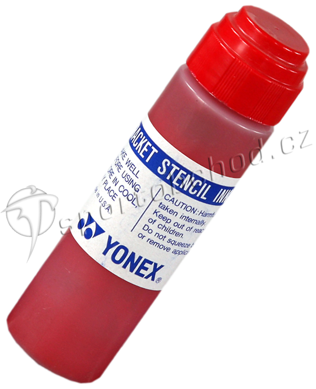 Tintenfilzstift für die Bespannung Yonex Stencil Ink Red